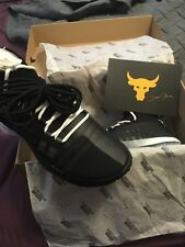 Project Rock 1 Under Armour Shoes Black Size 10.5 Brand New In box