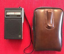 Vintage PANASONIC R-1070 Transistor Radio Original Cover Excellent Made In JAPAN