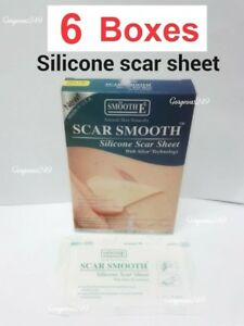 Smooth E scar silicone sheet skin reduce scars keloid wound care treatment love