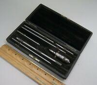 Starrett USA Depth Gage Micrometer Head & Rod Kit Machinist Toolmaker, S-7523