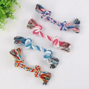 Dog Rope Chew Toys Kit Tough Strong Knot Pet Puppy Teething Toy Sale Cotton Well