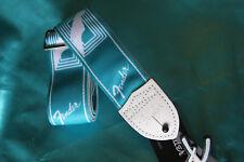 Fender Custom Monogrammed Strap, Sea Foam Green, MPN 0990627085