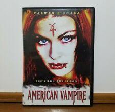 American Vampire (DVD) Carmen Electra Slim Case Trevor Lissauer