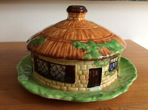 Vintage Beswick Cottage Ware Butter Dish 247