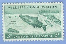 U S Stamp Wildlife Conservation King Salmon 3 cent stamp MNH