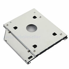 New Design 2nd HD SSD Hard Drive Optical Bay Caddy for Apple Macbook Pro Unibody