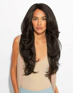 LONG WAVY BLOWOUT TEXTURE LACE PART WIG-RELAXED BLOWOUT BY FEME