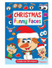 Christmas Sticker Book Funny Faces Children's Activity Book Kids With Stickers