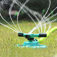 Lawn Sprinkler Head Garden Watering System 360 Rotating Spray Irrigation Systems