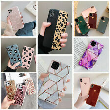 For girls Glitter Marble Case For iphone 11 Pro Max 7 8 Plus XS Max XR SE Cover
