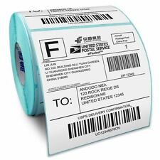 [PF]Barcode Thermal 100*100*500 Shipping Labels Self-Adhesive Paper Roll