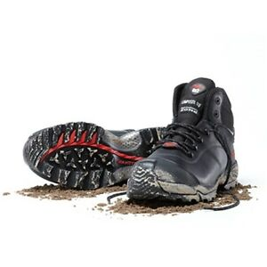 Mack Dingo Work Boots   Black   Airport Friendly Composite Toe Cap   Brand New