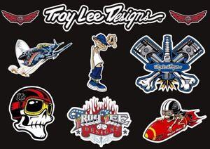 Troy Lee Designs Bike Bicycle Frame Decal Stickers Graphic Adhesive Set Vinyl #6