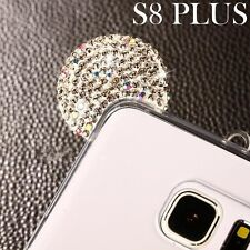 Samsung Galaxy S8+ PLUS - Silver Diamond Bling Minnie Mouse Ears TPU Rubber Case