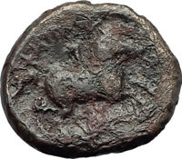 Philip II 359BC Olympic Games HORSE Race WIN Macedonia Ancient Greek Coin i64325