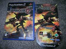 SHADOW THE HEDGEHOG - Rare Sony PS2 Game