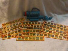 Vintage Give A Show Projector And Slides. Bozo The Clown, Bugs Bunny, Daffy Duck