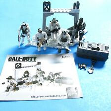 MEGA BLOKS Call of Duty Alpine Rangers 06823 Collector Set - About 95% Complete