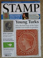 STAMP MAGAZINE***APRIL 2017***BOWIE STAMPS***EX USED CON