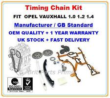 Opel Vauxhall Corsa c Agila Astra Meriva 1.0 1.2 1.4 Timing Chain Kit & Gears