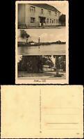 Ansichtskarte Bittkau-Tangerhütte (Altmark) Gasthaus, Dampfer, Ehrenmal 1929