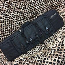 "New Valken Double Rifle Tactical Paintball Gun Case - 42"" - Black"