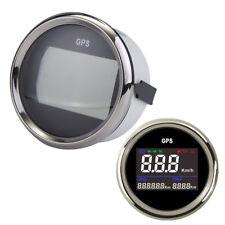 """2"""" 52mm Universal Digital GPS Speedometer Odometer Car Boat Yacht Motorcycle ATV"""