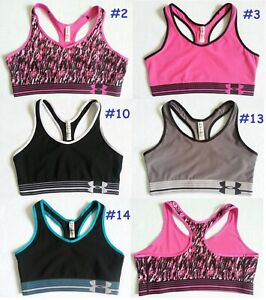 2624 NEW Under Armour Women Gotta Have It Print Sports Bra Top Gym Yoga S M