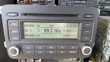 VW Volkswagen Rcd 500 MP3 radio reproductor de CD Cambiador Panasonic Golf 5, Passat B6