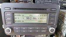 VW VOLKSWAGEN RCD 500 MP3 RADIO CD Changer Panasonic Giocatore Golf 5, Passat B6