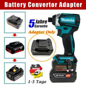 Battery Adapter für Bosch 18V Akku Konvertieren zu Makita 18V Batterieadapter