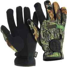 NGT Neoprene Fishing Gloves Folding Fingers Hunting Shooting M L & XL