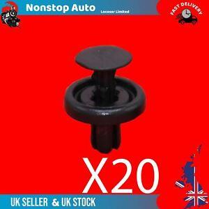 20X Bumper Wheel Arch Inner Lining Splashguard Clips Fits Lexus CT200H ES300H