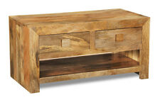 Living Room Furniture Dakota Light Solid Mango 2 Drawer Coffee Table (101l)