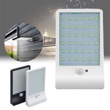 36/48LED Solar Powered Motion Sensor Security Lamp Waterproof IP65 Outdoor Light