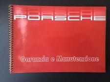 Porsche 911 Carrera 3.2 / 3.3 Turbo Libretto Garanzia E Manutenzione 1988 / 1989