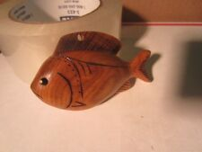 DICK DON TRUDELL  ICE  FISHING SPEARING DECOY CONTEMPORARY XMAS ORNAMENT 1989 8
