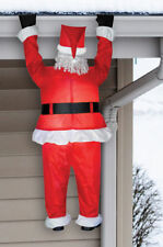 Morris Costumes Christmas Inflatables Airblown Santa Hanging Decorations & Props
