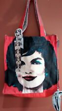 Andy Warhol Jackie O Tote Bag & Banana Purse + Button & Museum of Art Letter NEW