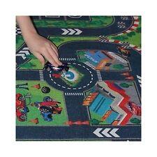 Hotwheels Mat Imaginary Road Map Matchbox Race Track Playset Toddler Kids Car