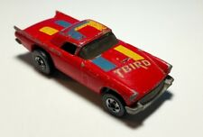 Vintage HOT WHEELS 57 T-bird Red Ford Thunderbird HTF