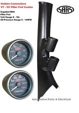 SAAS PIllar Pod suits Holden Commodore VT SS with Volts Gauge + Oil Pressure