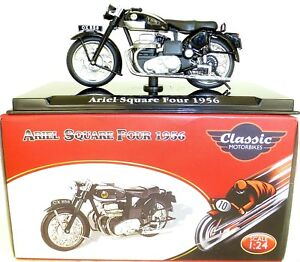 Ariel Square Four 1956 Motorcycle Classic Atlas 4658114 New 1:24 Boxed HC3 Μ