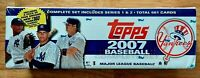 2007 Topps Baseball Sealed Factory Set Complete 1-661 5 Exclusive Yankkes pack