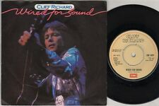 "CLIFF RICHARD Wired For Sound  7"" Ps, B/W Hold On, Emi 5221"