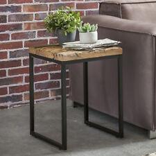 FineBuy Table d'appoint 40 x 38 x 55 cm bois massif table basse table de salon