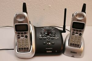 Uniden DCT648 Answering Machine Phone System with 2 Cordless Handhelds