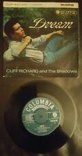 CLIFF RICHARD DREAM EP 1961  1ST PRESSING  RARE