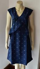 Great Plains London Dark Navy Dress Pineapple Print size XS new with tag #52