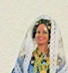 "9"" Marin Chiclana Woman. Vinyl."